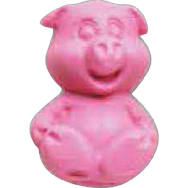 Happy Pig Pencil Top Eraser