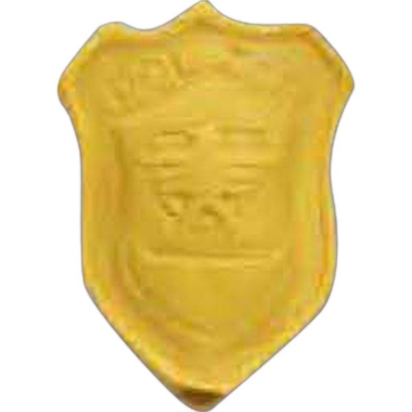 Police Badge Pencil Top Eraser