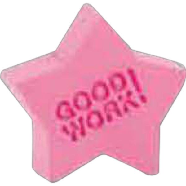 Good Work Star Pencil Top Eraser