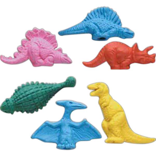 Dinosaurs Pencil Top Eraser