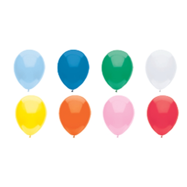 "9"" - Low Cost Imported Latex Balloon In Basic Colors Photo"