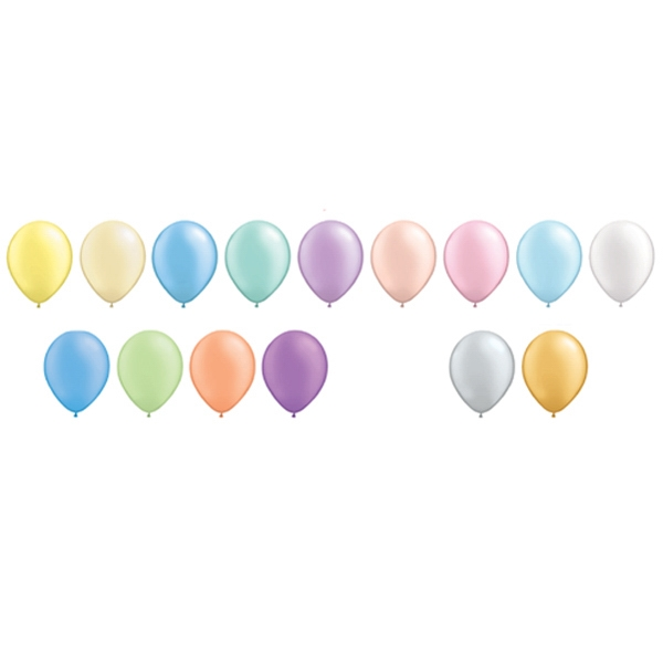 Qualatex (r) - Metallic/pearl/neon Latex Balloon Photo