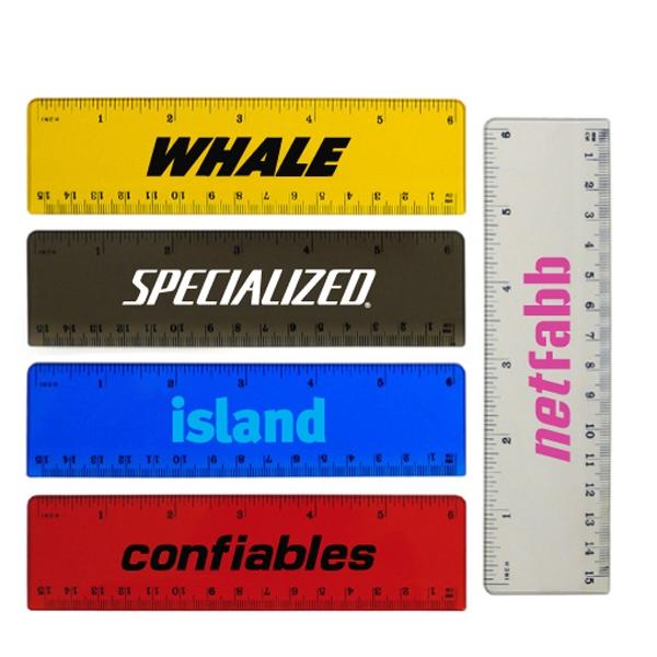 6 Inch Plastic Ruler