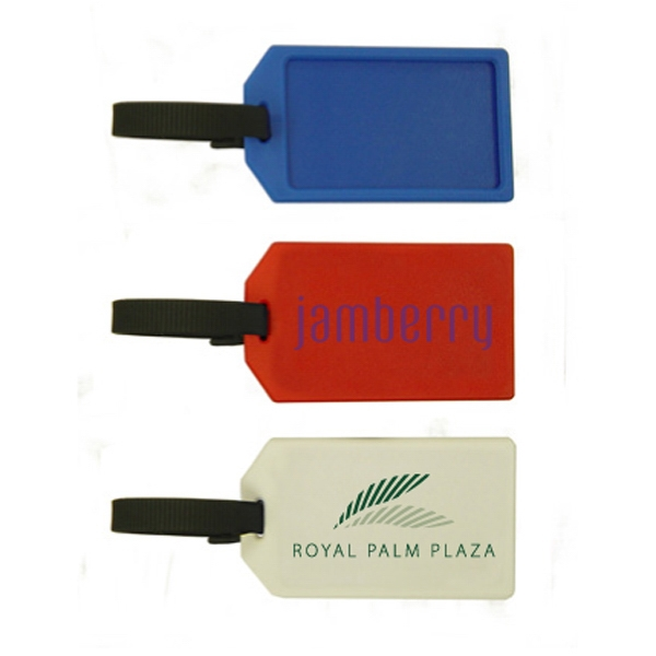 Luggage Tag Business Card Holder