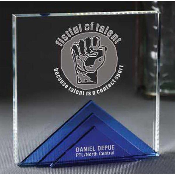 Small Andover Tri Level Award