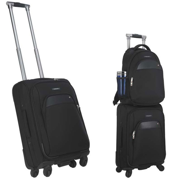 "Sheaffer (TM) Classic 21"" 4-Wheeled Carry-On"
