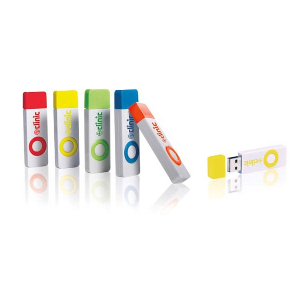 Color Pop USB 2.0 Flash Drive