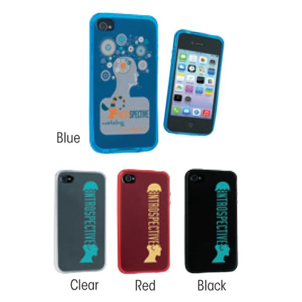Phone Soft Case 4 - Soft translucent phone case.