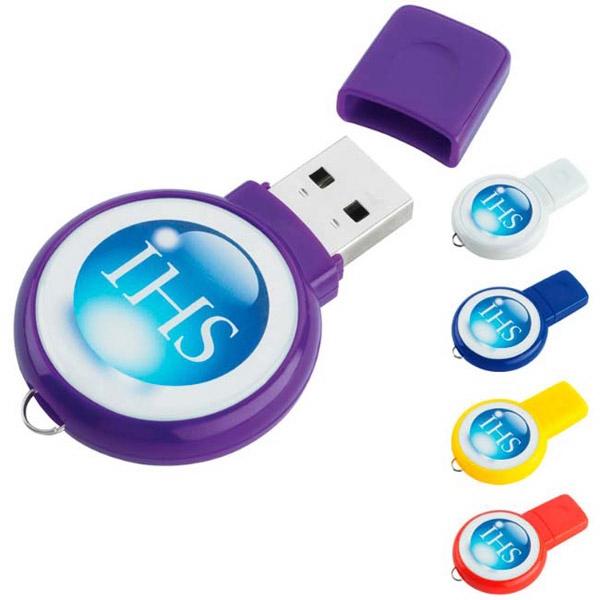 Circle USB 2.0 Flash Drive
