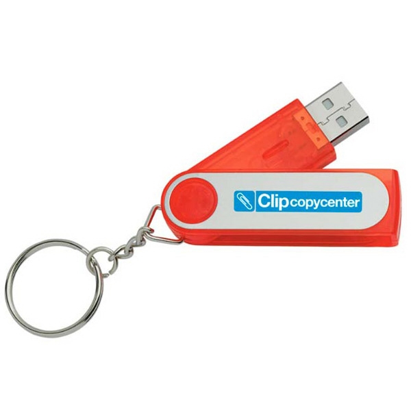 Folding Keyring USB 2.0 Flash Drive