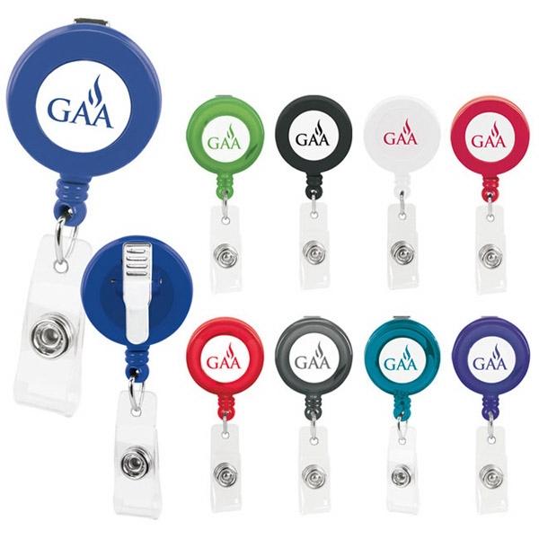 Promo Retractable Badge Holder - Good Value (R)
