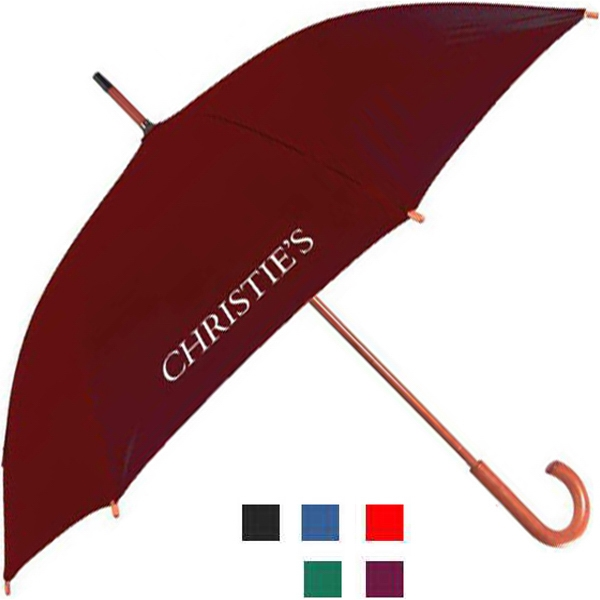 "Urban Brolly (tm) - Umbrella With 48"" Arc And Pushbutton Automatic Opening Photo"