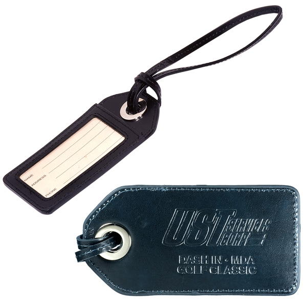 Leeman New York Webster Grommet Luggage Tag