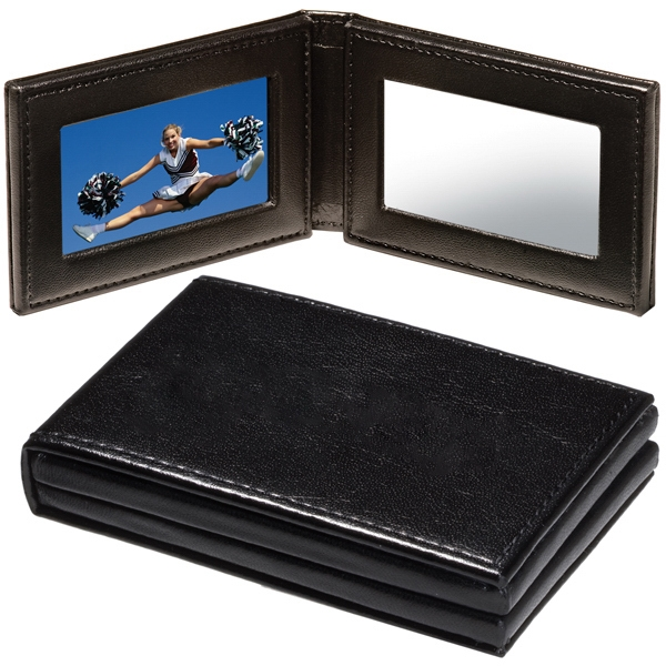 Hampton Pocket Folding Photo Frame/Mirror