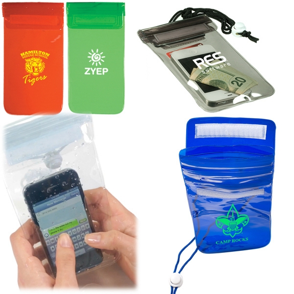 Waterproof Bag With Pvc Plastic Pouch Photo