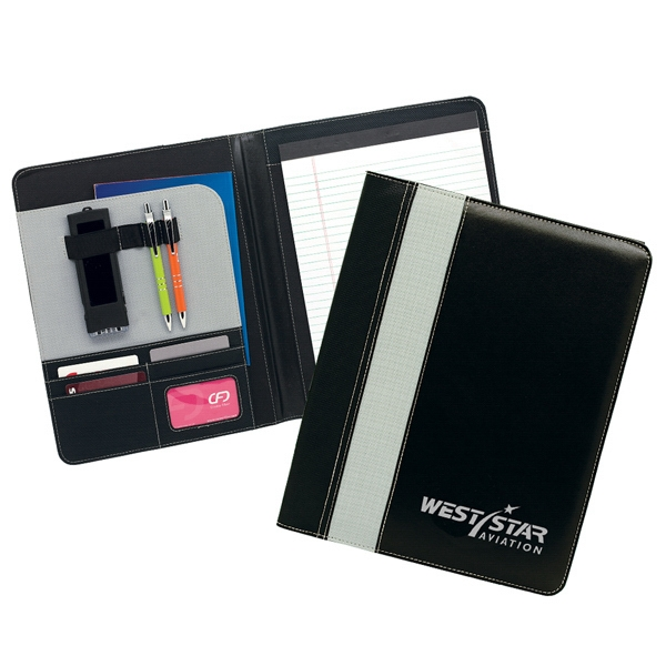 Ursa - Padfolio With Interior File Pocket, Business Card Holders And Writing Pad Photo