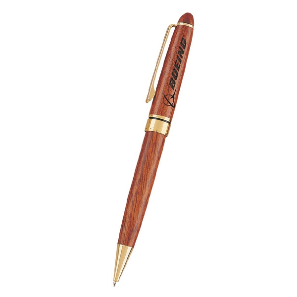 Rosewood - Twist Action Wooden Rosewood Pen Photo