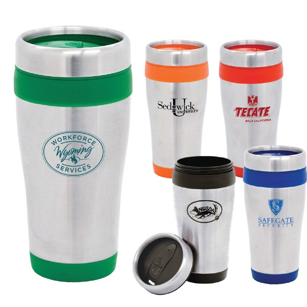 Nimbus - 16 Oz. Stainless Steel Travel Mug Photo