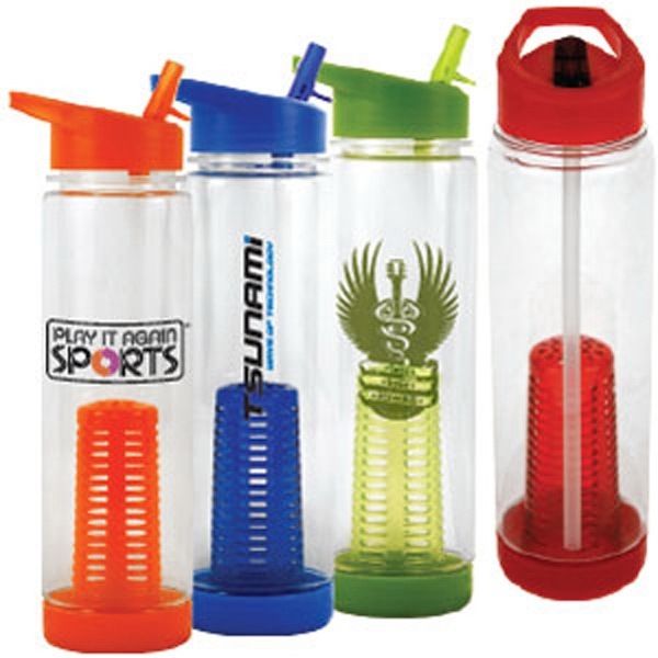 Tritan Water Bottle With Infusion Cage Photo