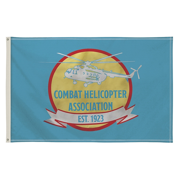 5' x 8' Full-Color Single-Sided Flag