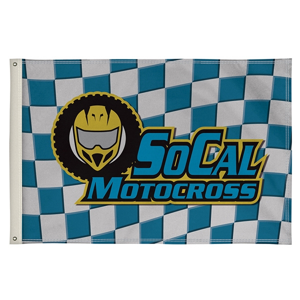 3' x 5' Full-Color Double-Sided Flag