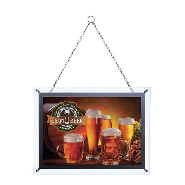 14-inch x 20-inch Crystal Edge Light Box