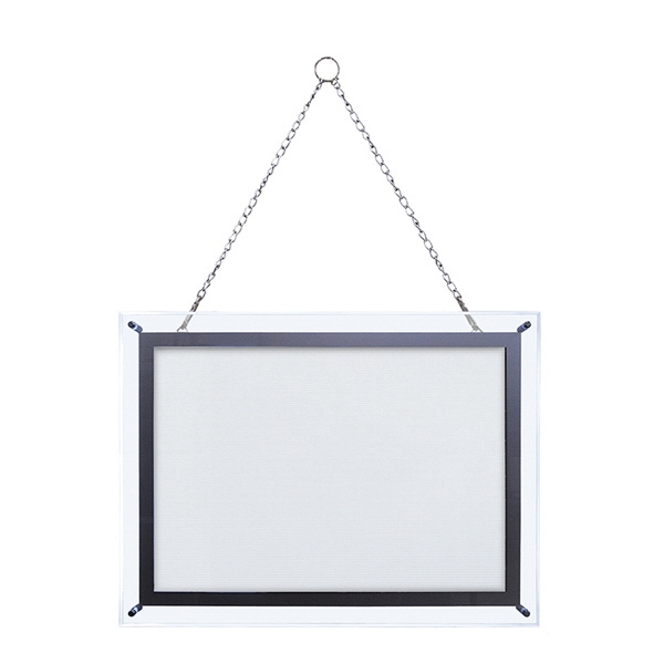 14-inch x 20-inch Crystal Edge Light Box Hardware Only