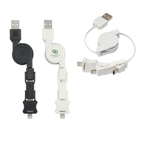 3-in-1 iPhone 5 Charging Cable