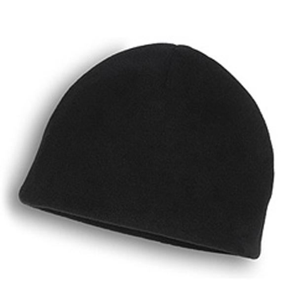 Beanie - Black Eco Fleece Beanie