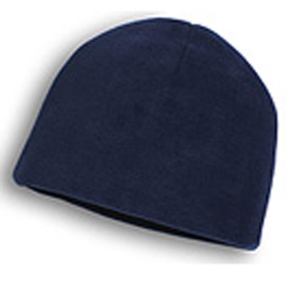 Beanie - Navy Blue Fleece Beanies