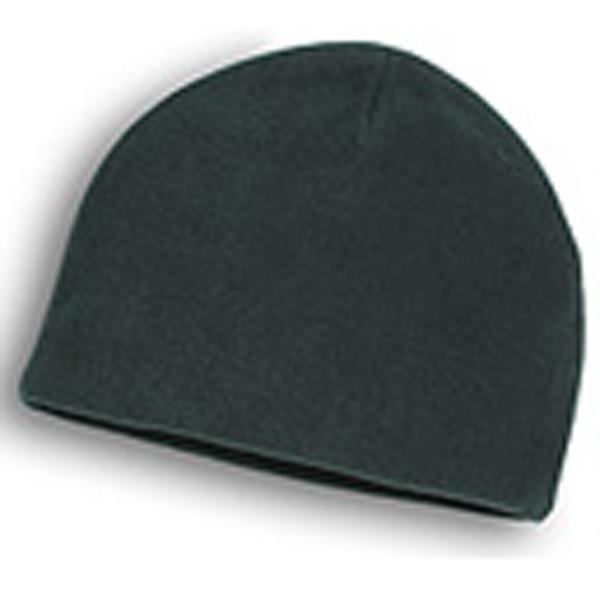 Beanie - Hunter Green Fleece Beanies