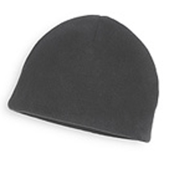 Beanie - Charcoal Gray Fleece Beanies