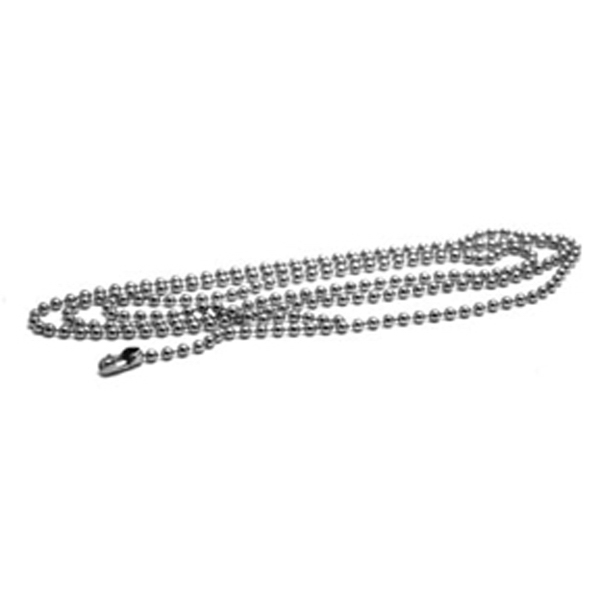 Aluminum Bead Chain With Jump Ring For ID Tags