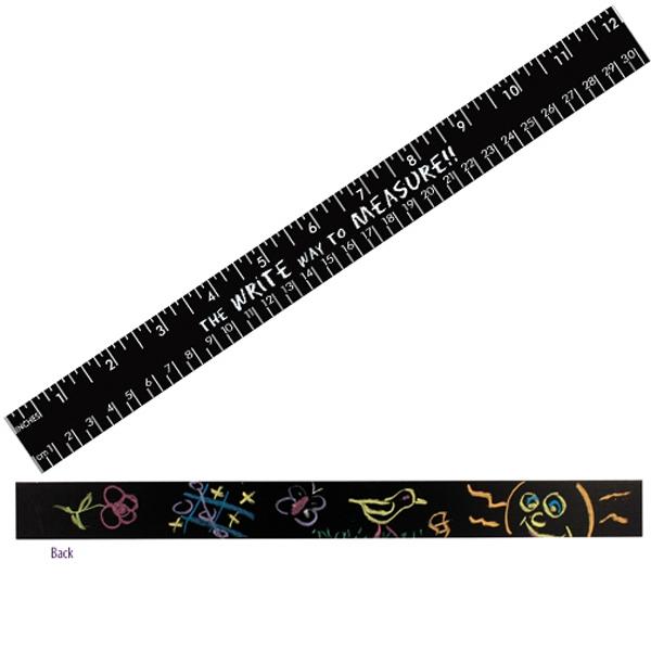 """12"""" Chalkboard Ruler - English & Metric Scale"""