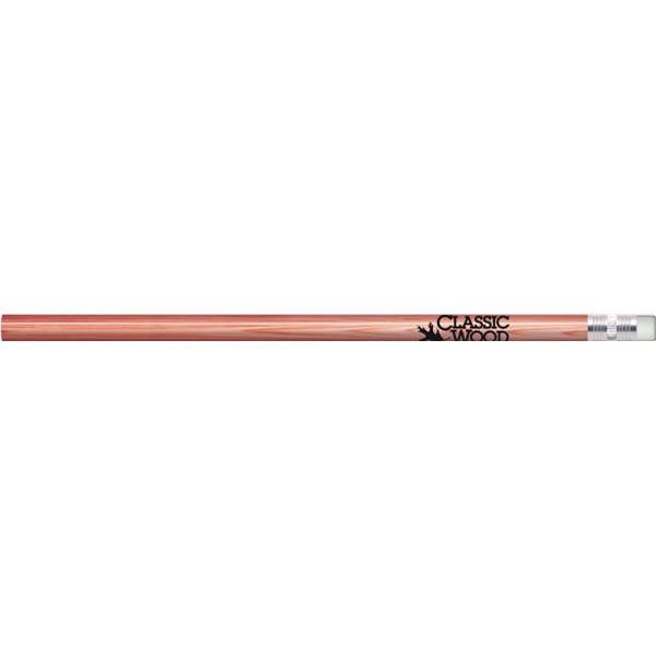 Cedar Look Painted Round Pencils