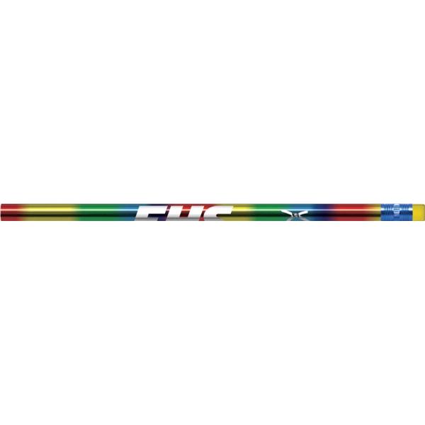 Red Rainbow Foil Pencils