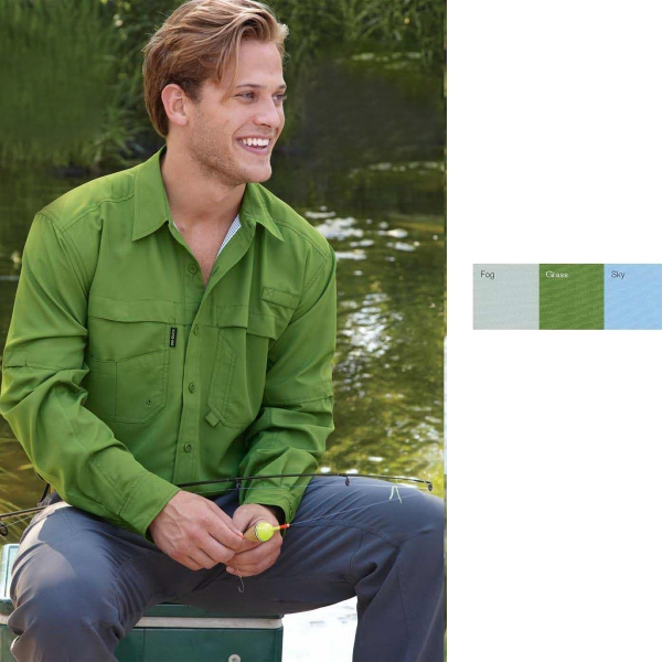 Dri Duck Convertible Sleeve Fishing Shirt
