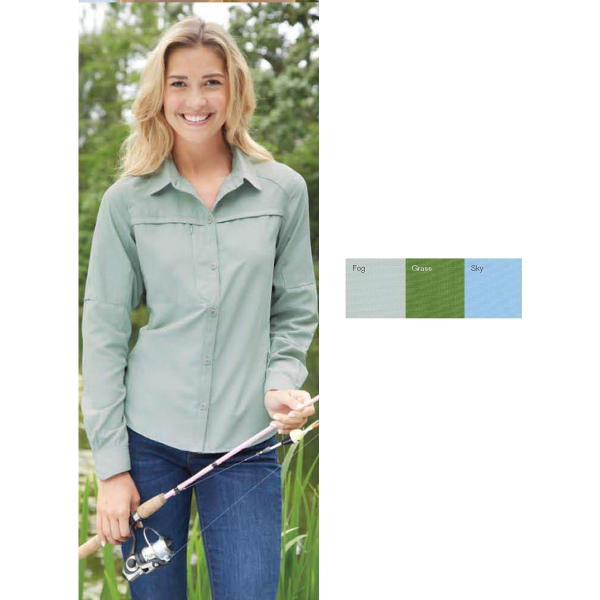 Ladies' Dri Duck Fishing Shirt