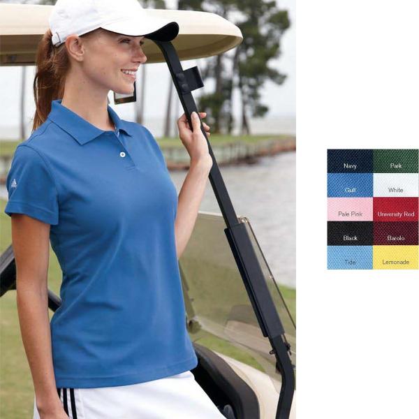 Adidas Golf Ladies' ClimaLite (R) Pique Polo