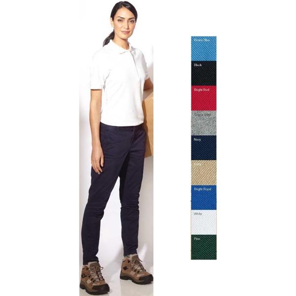 Ladies' Featherlite (R) Cotton Pique Sport Shirt