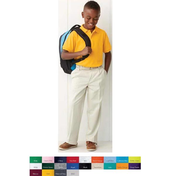 Jerzees (R) Youth SpotShield (TM) Sport Shirt