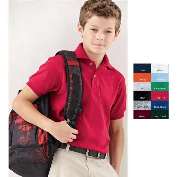 Hanes (R) Youth ComfortSoft (R) Sport Shirt