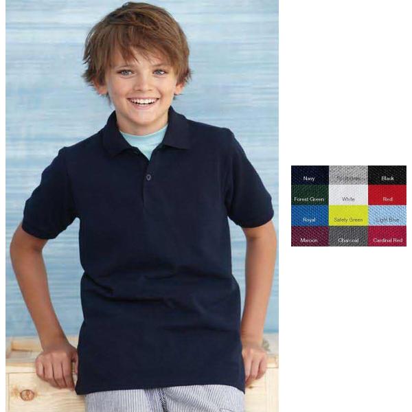 Gildan (R) Youth DryBlend Pique Sport Shirt