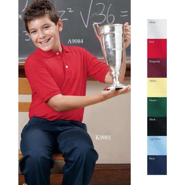 French Toast Youth Short Sleeve Polo