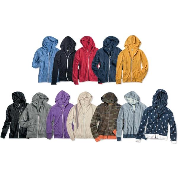 Alternative Eco-Jersey Hooded Full-Zip