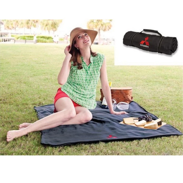 High Country Picnic Blanket - Picnic blanket is incredibly soft and has handles for easy carrying
