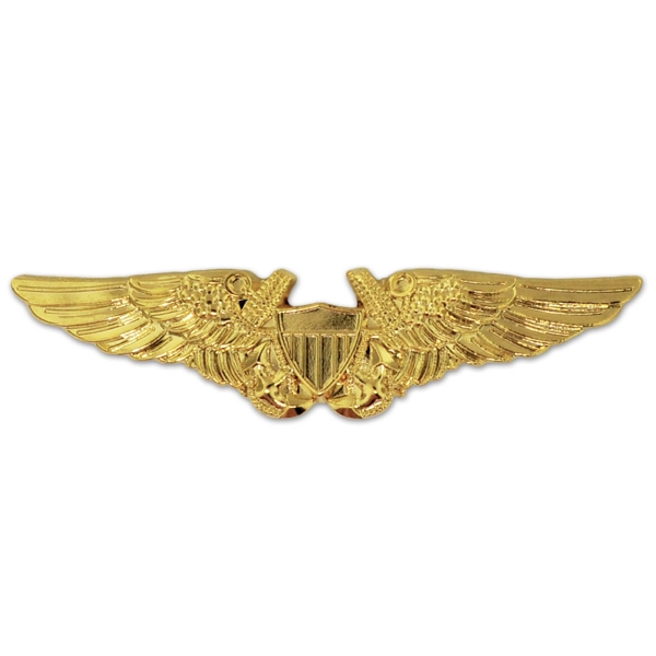 U.S. Navy Flight Officer Wing Pin