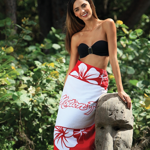 Hibiscus Collection Stock Beach Towel
