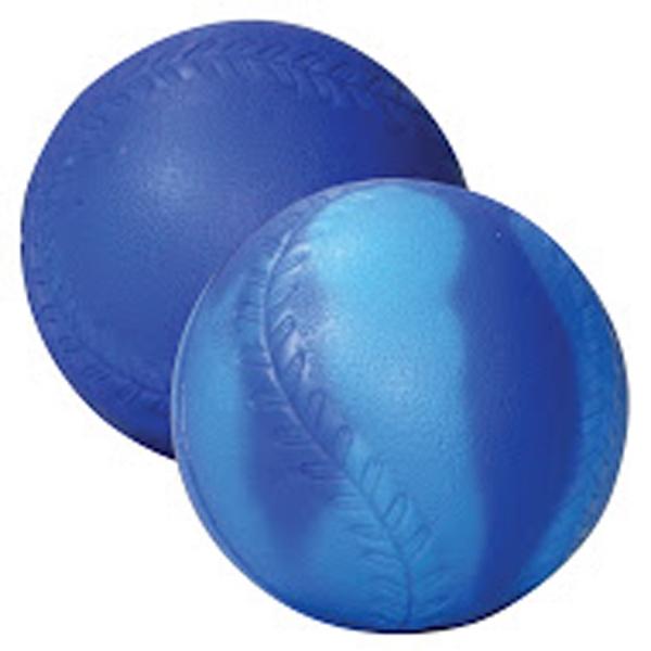 """Blue/Light Blue """"Mood"""" Baseball Stress Reliever"""