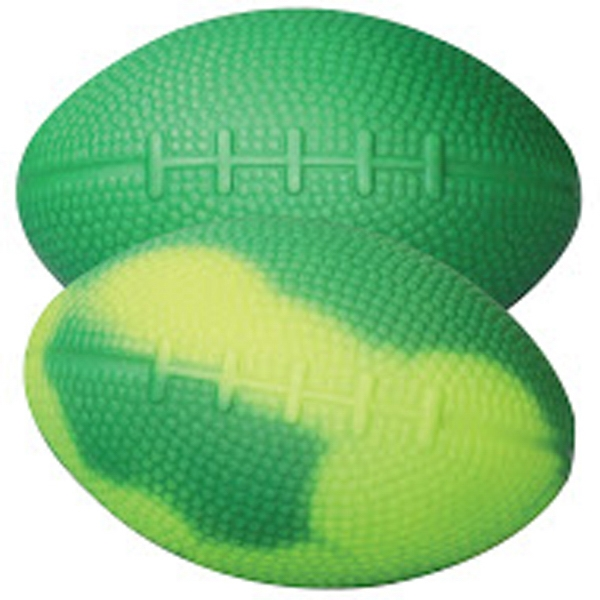 "Green/Yellow ""Mood"" Football Stress Reliever"